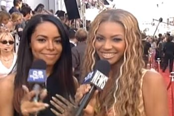 Beyoncé posted a touching #tbt tribute video in memory of Aaliyah