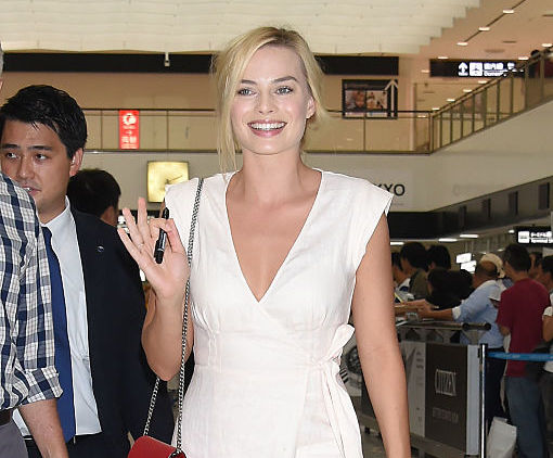 Everyone's in love with Margot Robbie's airport dress, but we can't stop staring at her SHOES