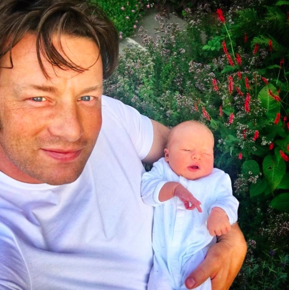 Celebrity chef Jamie Oliver just gave his son the most badass name