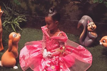 This artist imagined North West if she was a Disney princess and it's unbearably cute