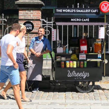 New life goal: own your own mobile eco-friendly coffee shop