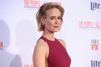 "Sarah Paulson might join the all-female ""Ocean's 11"" and we are SCREAMING"