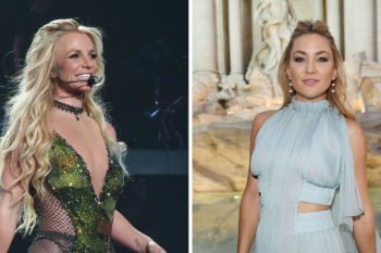 Britney Spears fangirls over Kate Hudson (like we all would, of course)
