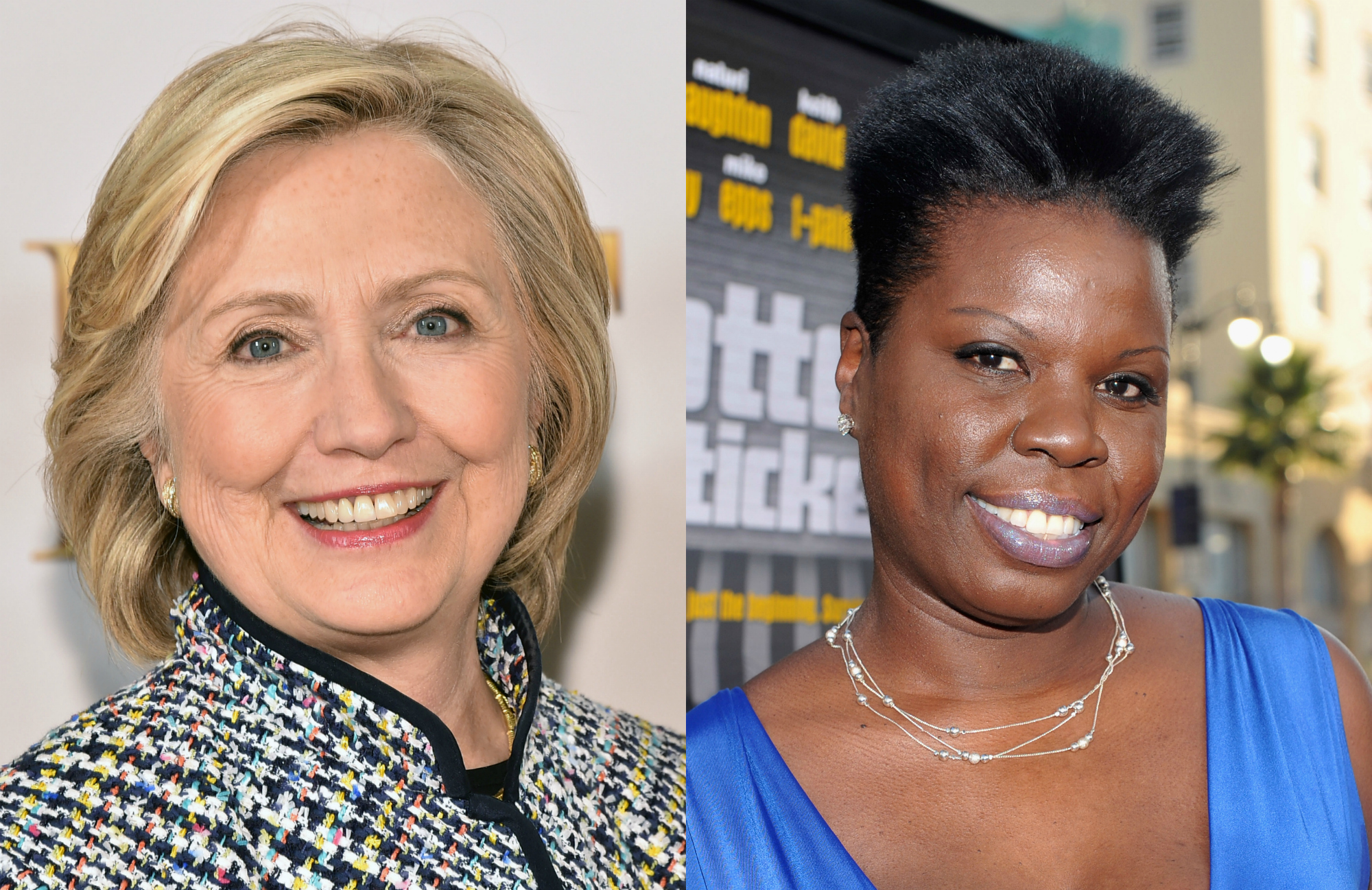 Hillary Clinton tweeted her support for Leslie Jones, because they're both queens and also #GirlPower