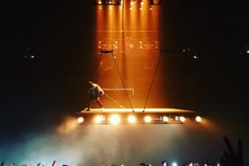 "Kanye's ""Saint Pablo"" tour kicked off last night and the first incredible footage is coming in"