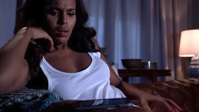 Kerry Washington made a fake horror movie about group texts and it is TOO REAL