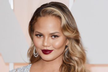Chrissy Teigen is bringing back the huge curly perm