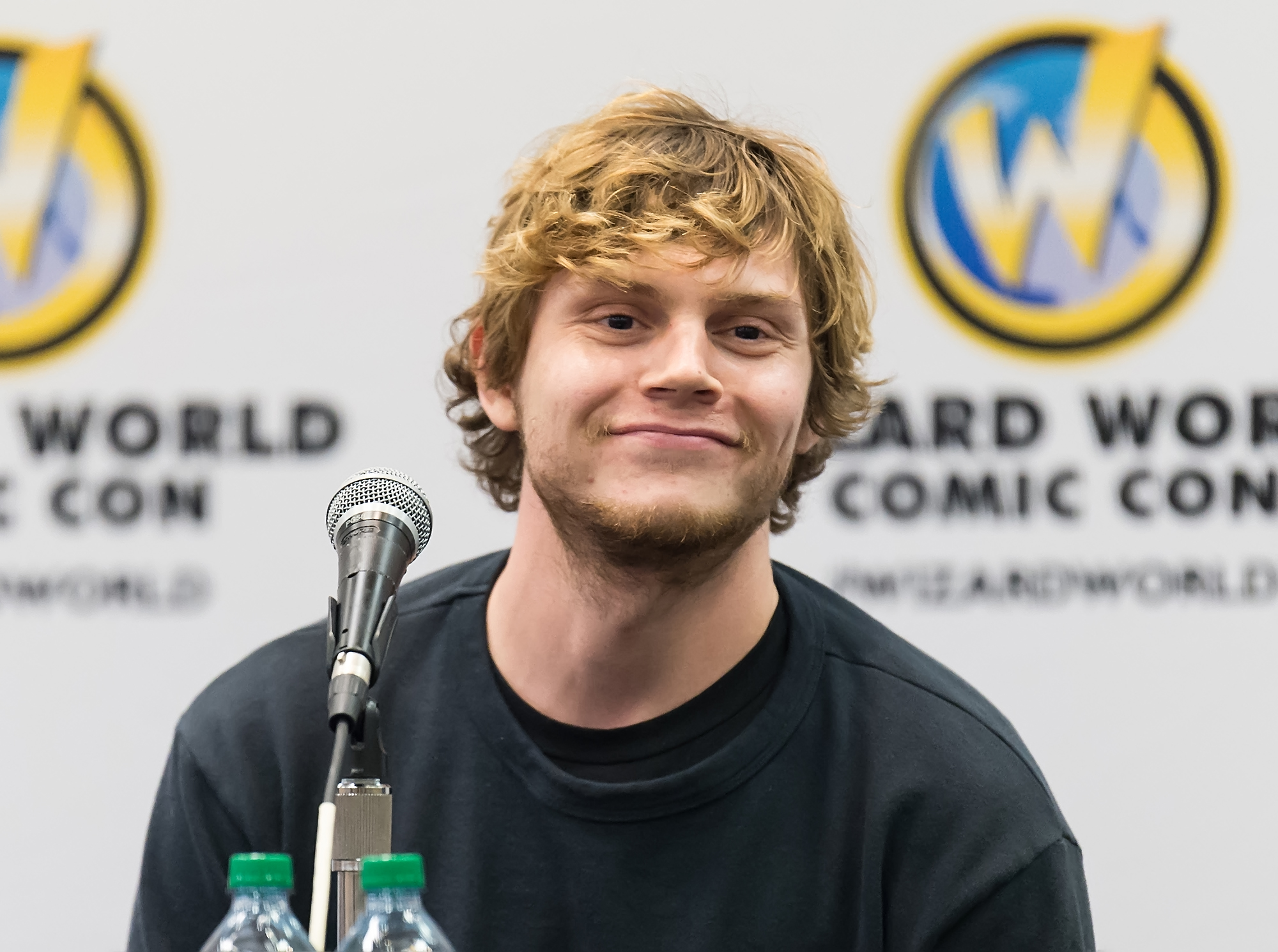 "Evan Peters has red hair now, which could mean INTERESTING things for ""American Horror Story"" Season 6"