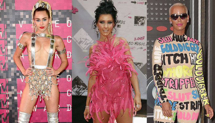 23 of the most outrageous and truly memorable looks from the MTV Video Music Awards
