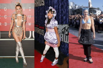11 of the most iconically confusing fashion moments on the VMA red carpet
