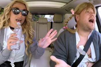 "Britney Spears just admitted her karaoke with James Corden was ""awkward"""