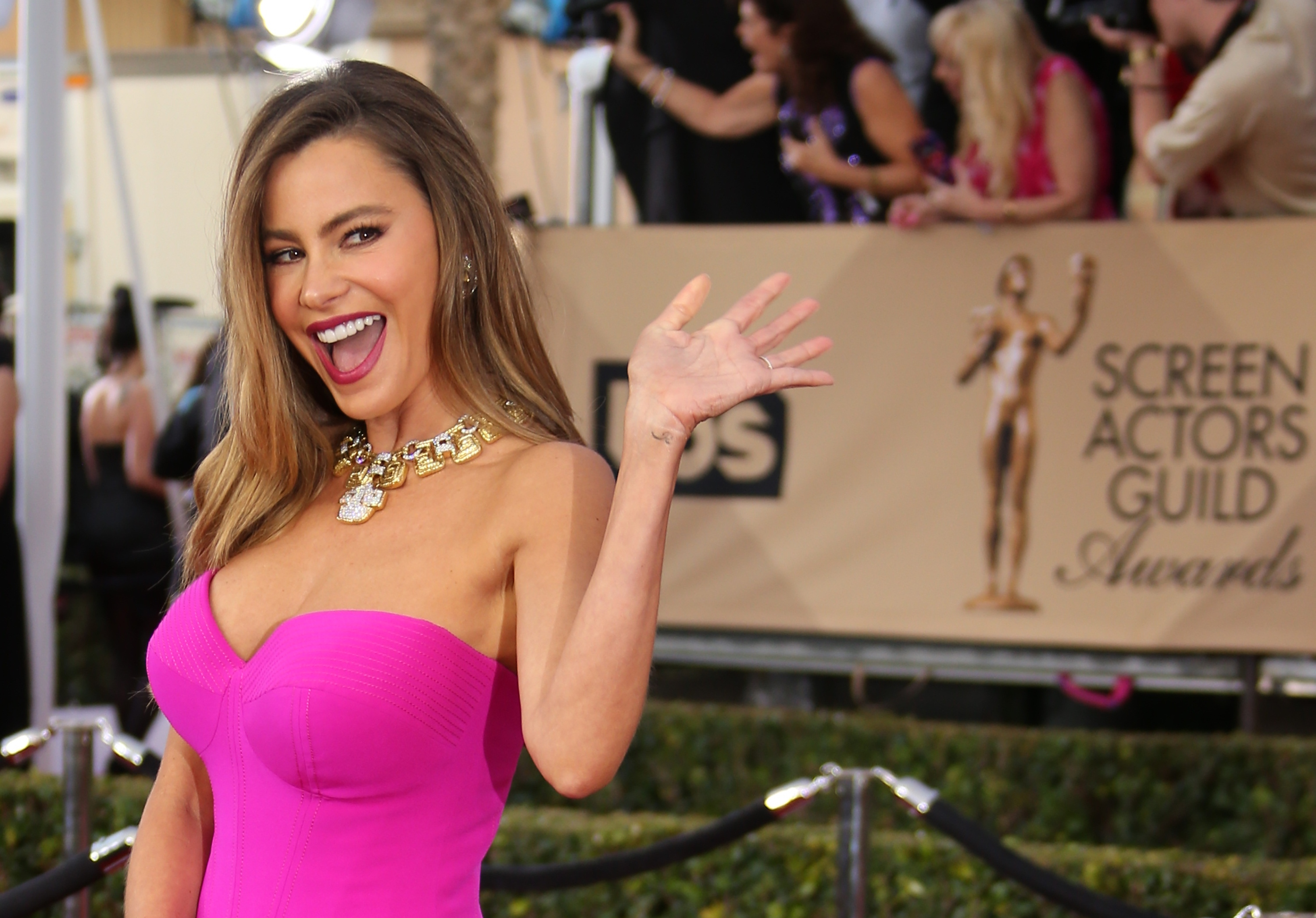 Sofia Vergara both adores and hates tiny food, once again proves she is SO us