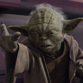 Um, why has Yoda taken a position on doing the wave???