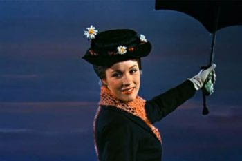 Julie Andrews reaction to Emily Blunt as Mary Poppins is practically perfect in every way