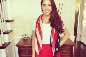 Aly Raisman's hometown just threw her a literal parade and it's adorable