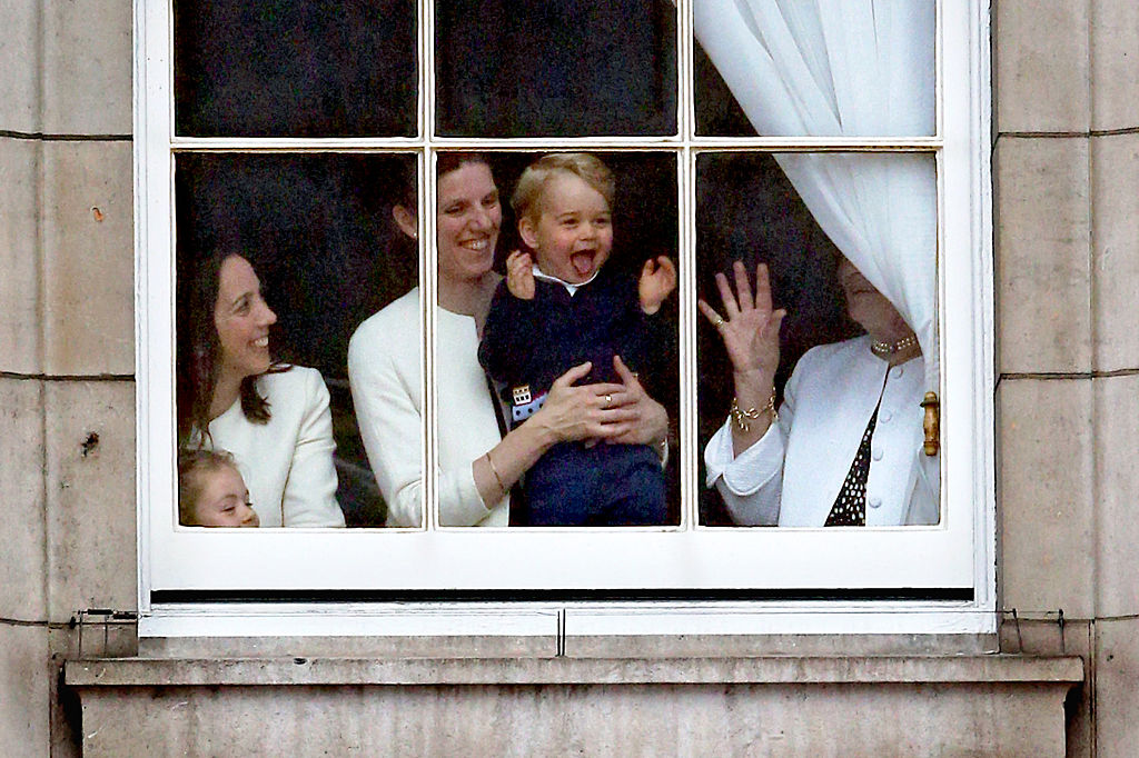 Sounds like little Prince George might have a career as a chef ahead!