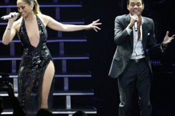 Jennifer Lopez joining Marc Anthony on stage just gave us #friendgoals