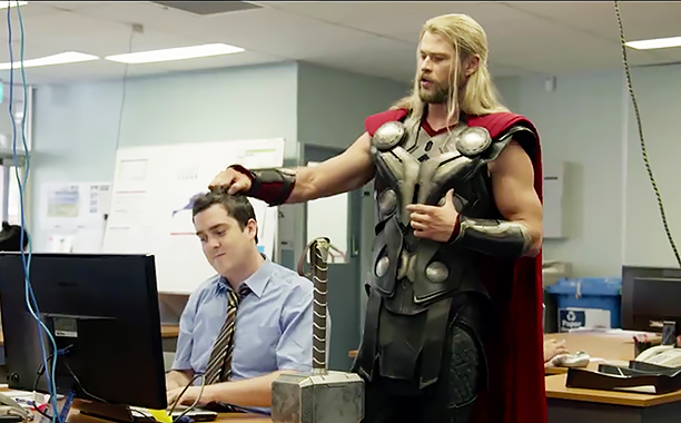 "We have finally learned what Thor was up to during ""Captain America: Civil War"" and we CANNOT stop laughing"