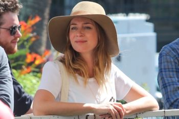 "Emily Blunt talks about her new role in ""Girl on the Train,"" and we're cheering"