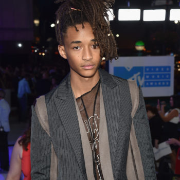 Jaden Smith wore a jacket covered in leaves for an awesome cause