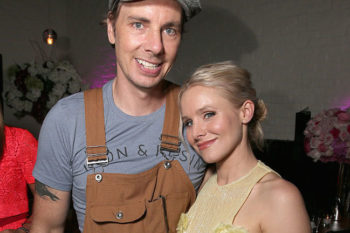 "Kristen Bell posts pic of Dax Shepard as a ""dad beast,"" is making us giggle-swoon"