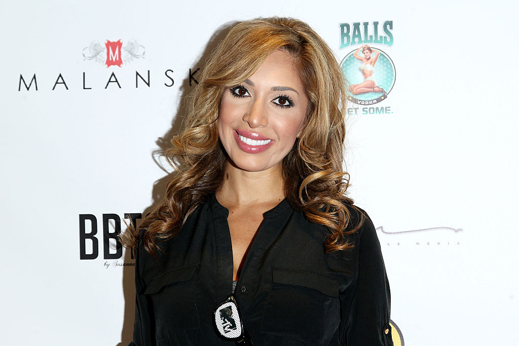 "Farrah Abraham from ""Teen Mom"" dressed up as Wonder Woman for the VMAs"