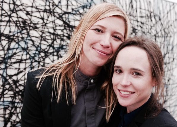Ellen Page and her girlfriend are officially the cutest Instagram couple