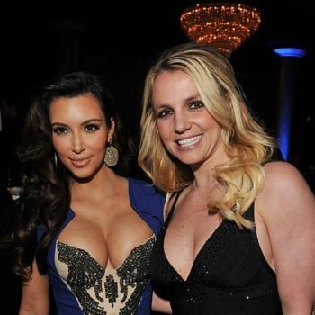 This video selfie from Britney Spears and Kim Kardashian is breaking the internet