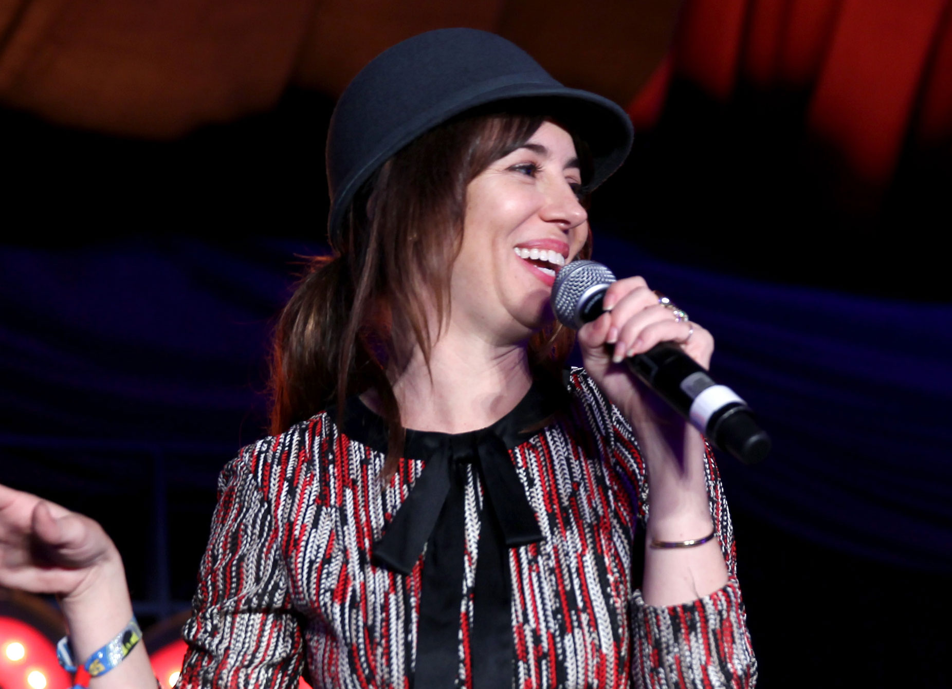 "This video of Natasha Leggero and a bunch of kids dancing to ""Shots"" is too much fun"