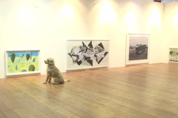 London hosted an art exhibition for dogs, so now your pet can be cultured too