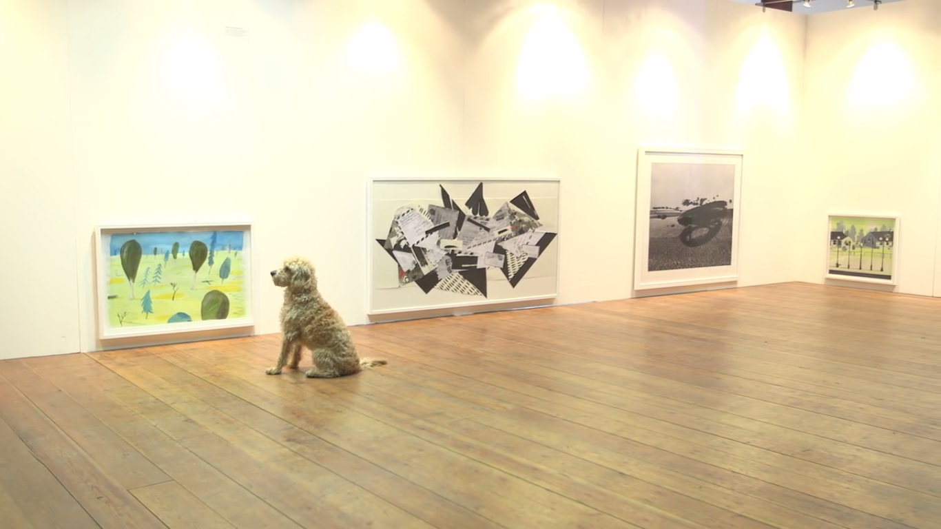 London Hosted An Art Exhibition For Dogs So Now Your Pet