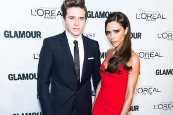 Victoria and Brooklyn Beckham just won the #1 mother-son selfie award