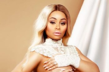 Blac Chyna's fully nude maternity portraits are glowy and beautiful