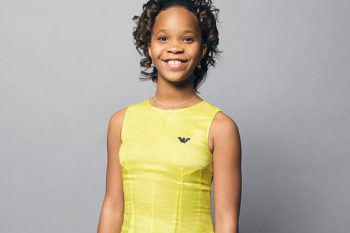 Quvenzhané Wallis looked like a mini Beyoncé on last night's red carpet