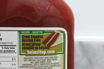 Well, this is certainly a thing: The Great Canadian Ketchup Cake
