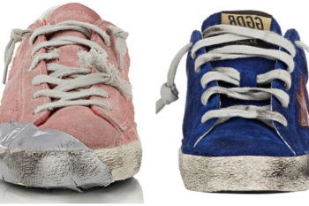 You'll be *baffled* by the price tag of these distressed designer sneakers