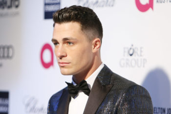 """Teen Wolf"" star Colton Haynes makes a beautiful promise while accepting the HRC Visibility Award"