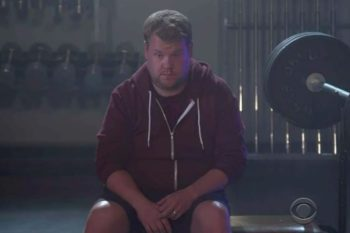 "James Corden parodies Kanye's ""Fade,"" and we CAN'T STOP LAUGHING"
