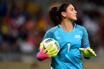 Video: Hope Solo breaks down in tears upon hearing about her six-month suspension