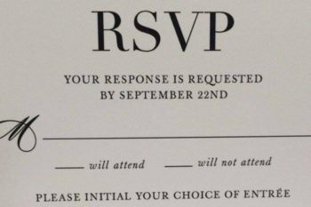 We cannot stop laughing at this mega wedding RSVP fail