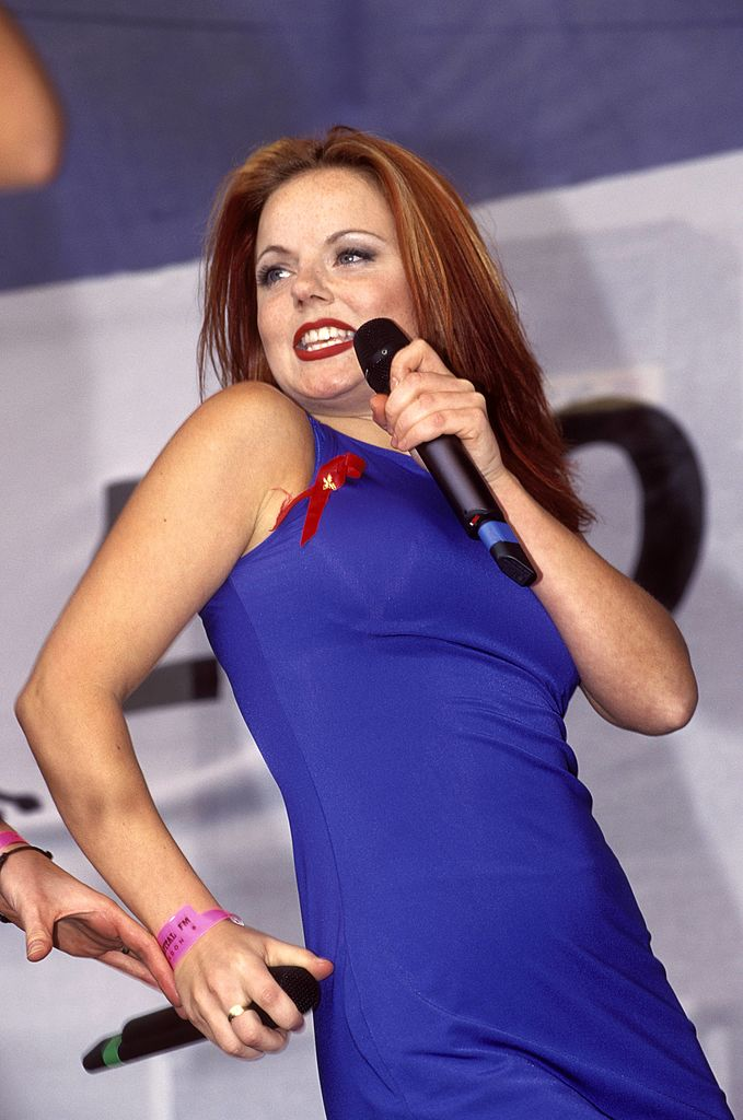 geri halliwell spoke about her struggles with an eating