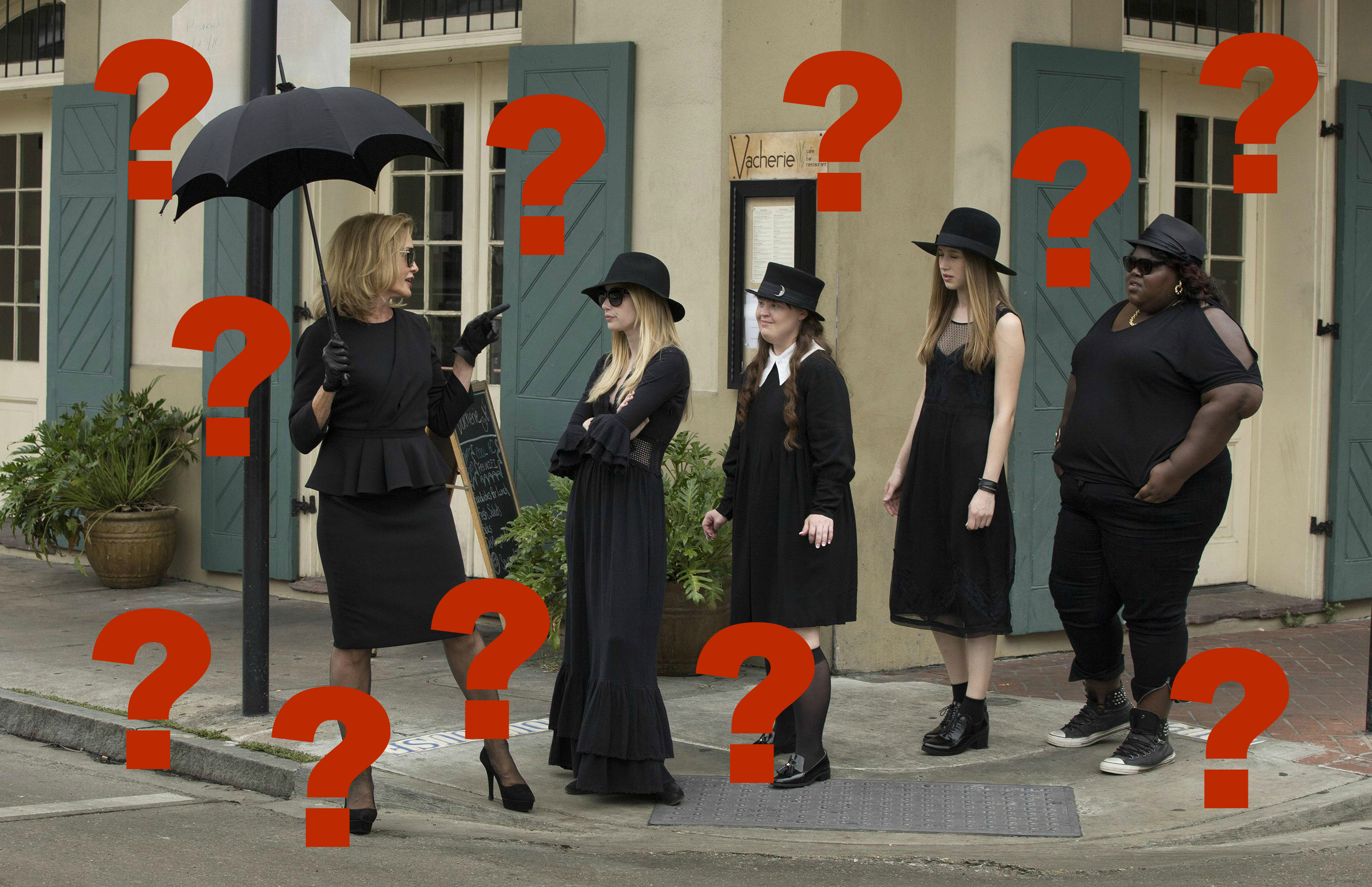 "Here are some ~rumored~ set pictures from ""American Horror Story"" and seriously WTF"