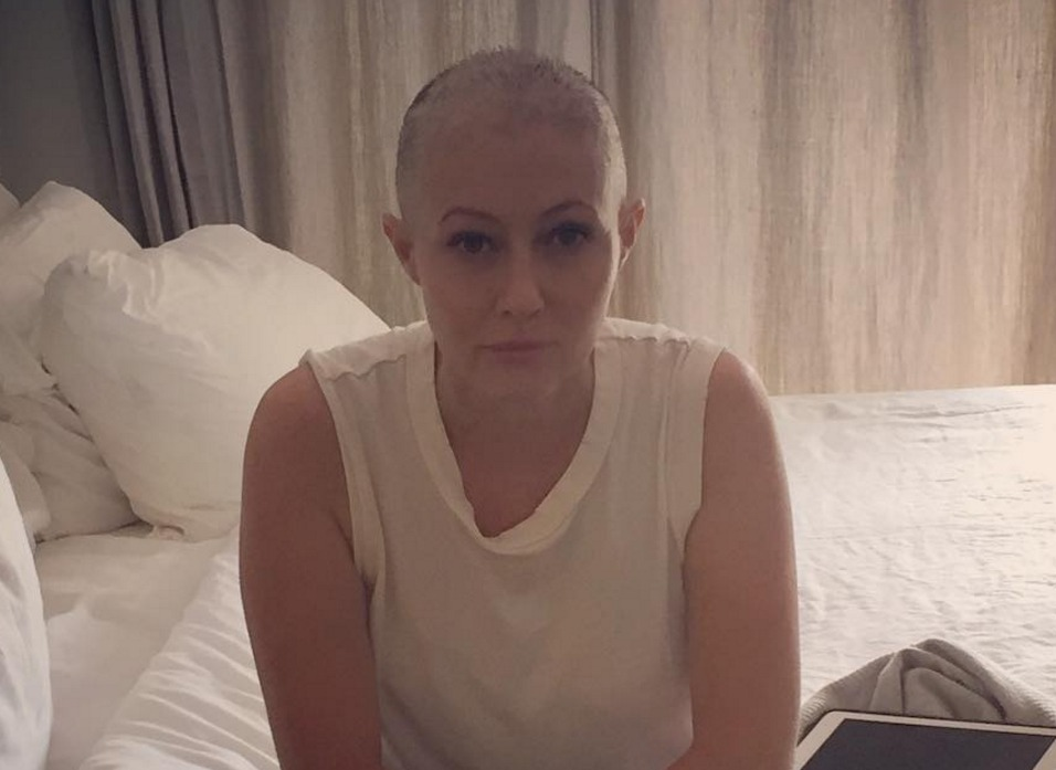 Shannen Doherty's latest Instagram of her chemo treatment is so heartbreaking