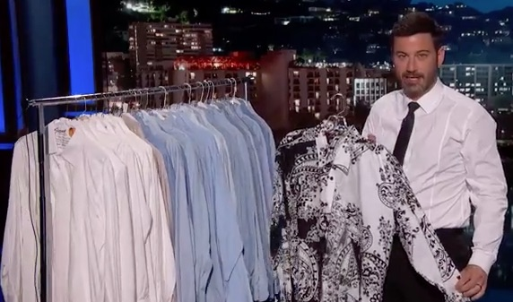 Jimmy Kimmel compared Donald Trump to buying a weird shirt, and it actually makes lots of sense