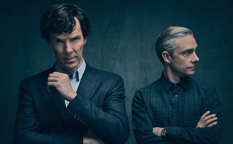 "The first official photo from ""Sherlock"" Season 4 is here, and our boys are BACK"