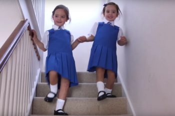 Remember conjoined twins Rosie and Ruby? Well they're totally healthy and starting school this year!