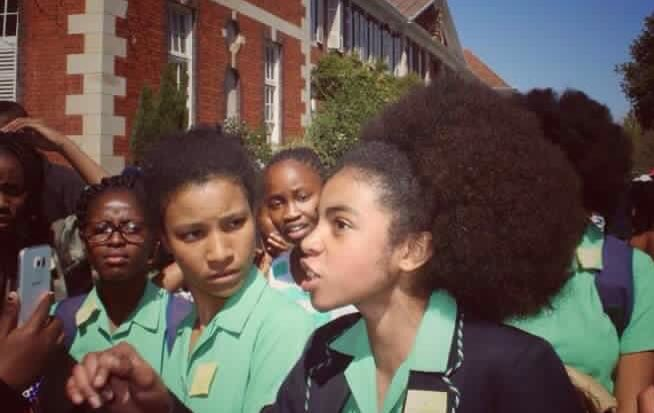 Girls in South Africa are protesting this insanely racist hair policy at school