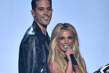 Britney Spears sets the record straight on that *almost* kiss with G-Eazy at the VMAs