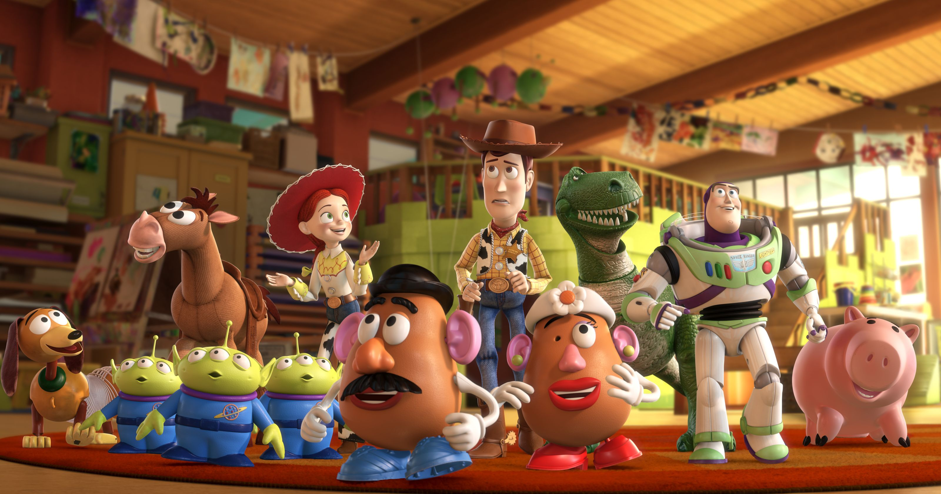 There Will Be A Toy Story 4 : Here s every single quot toy story character in one picture