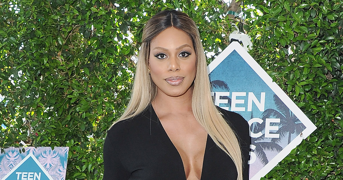Laverne Cox looked like an actual superhero at the Teen Choice Awards